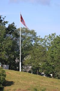 A Pennant flutters on Bygdøy