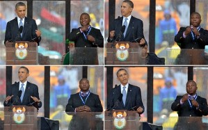 Fake interpreter at Mandela funeral