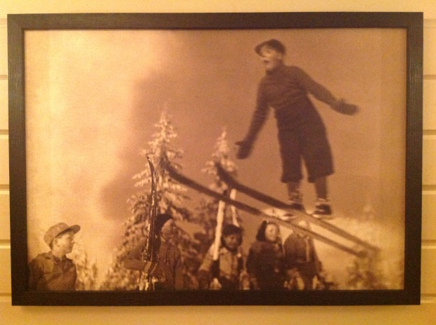 Boy Jumping: Trysil-Knut Hotel