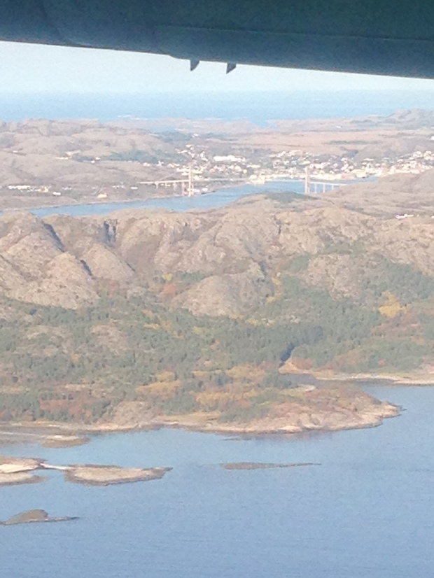 Rørvik on approach