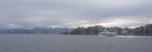 On the Fjorddrott, looking starboard