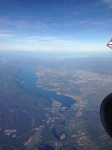 16:26, Looking north, Jevnaker and Randsfjorden