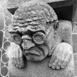 Sour man grotesque Bergen