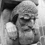 Old man grotesque Bergen