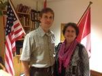 John & Kate Elin Norland, Lodge President