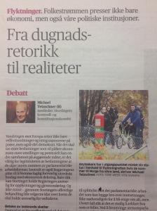 """""""Aftenposten"""" p. 16, 5 Nov. 2015"""